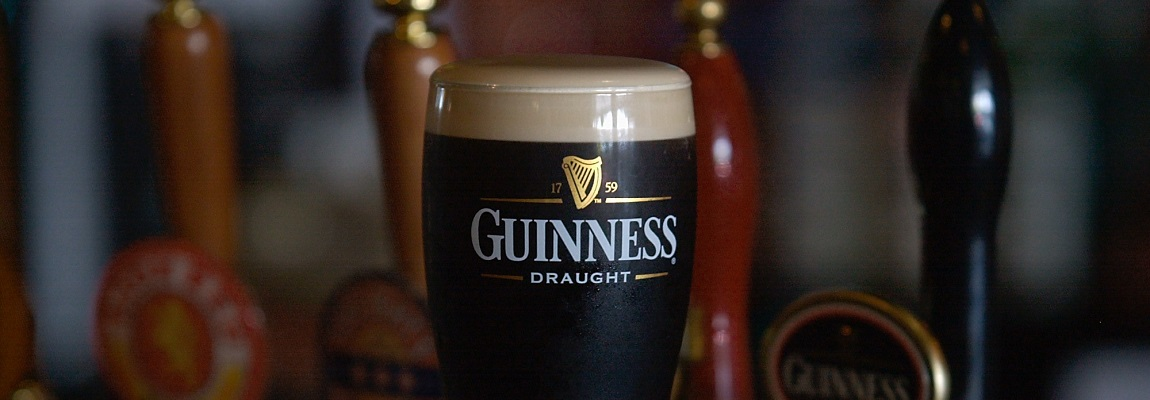 Rosie O'Grady's = Guinness on Tap